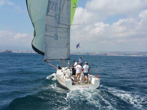 IX Prueba  del VII campeonato en el Club Náutico el Saladillo | Interclubs del Estrecho